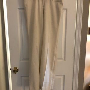 Limited Drew Fit Flare Leg pants in winter white